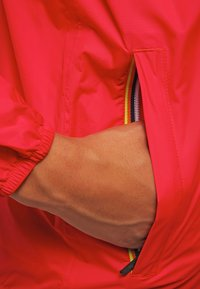 K-Way - LE VRAI CLAUDETTE - Waterproof jacket - red - 5
