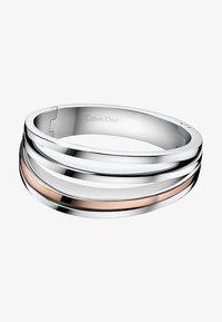 Calvin Klein - BREATHE - Bracelet - silver-coloured/rosegold-coloured - 0