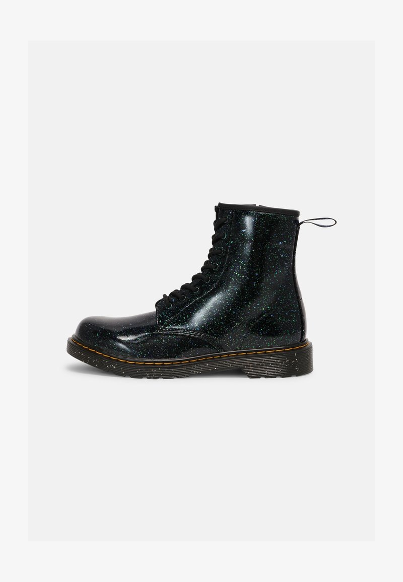 Dr. Martens - 1460 Y - Lace-up ankle boots - green cosmic glitter