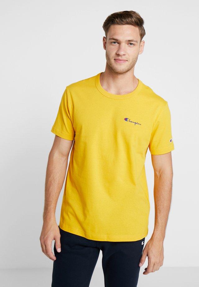 CLASSIC APPLIQUE TEE - T-shirt - bas - yellow