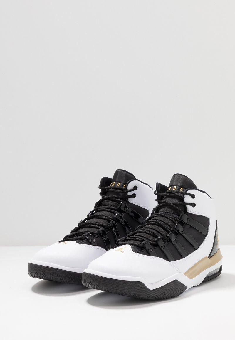Cantidad de dinero fingir Cabecear  Jordan MAX AURA - Zapatillas altas - white/metallic gold/black/blanco -  Zalando.es