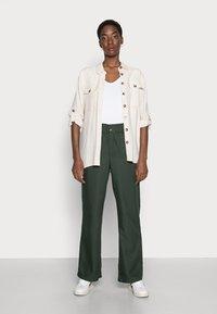 Anna Field - 2 PACK - Basic T-shirt - white/black - 0