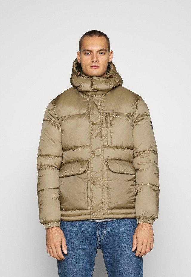 JORDARREN PUFFER JACKET - Winter jacket - sepia tint