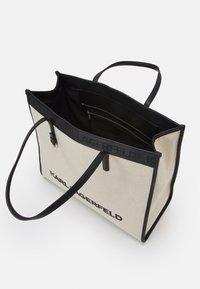 KARL LAGERFELD - SKUARE TOTE - Tote bag - natural - 2