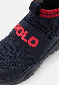 Polo Ralph Lauren - CHANING - Vysoké tenisky - navy/red - 5