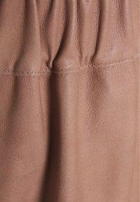 DEPECHE - SKIRT - Áčková sukně - dusty rose - 2