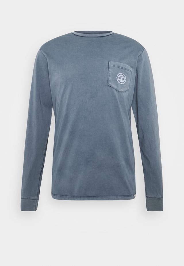 Long sleeved top - royal navy