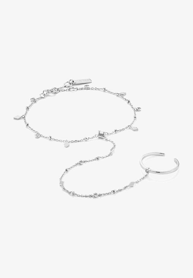 BOHEMIA HAND CHAIN  - Bracelet - silber