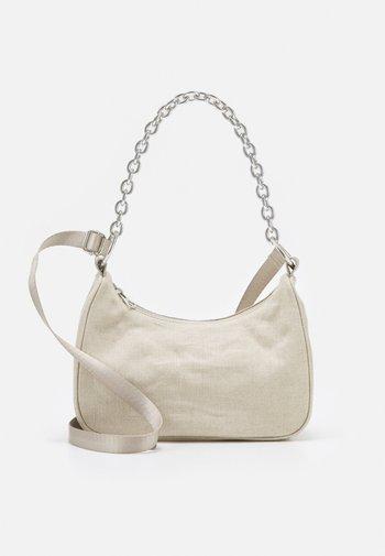 CHAIN HANDBAG - Handbag - beige