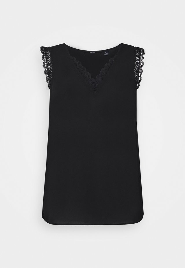 VMPOEL - T-shirt imprimé - black