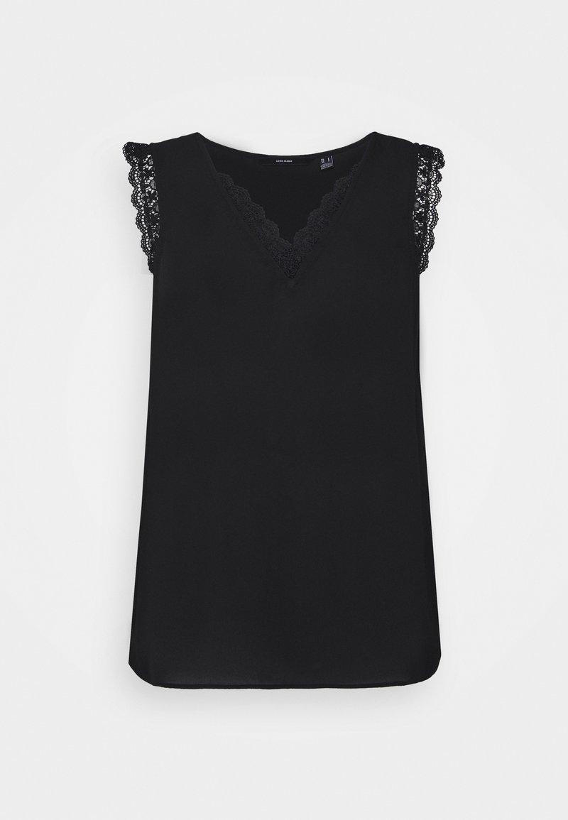 Vero Moda - VMPOEL - Camiseta estampada - black