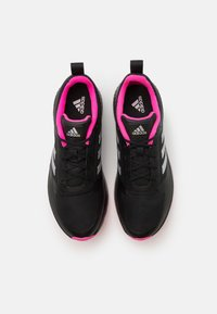 adidas Performance - RUNFALCON 2.0 TR - Løpesko for mark - core black/silver metallic/screaming pink - 3