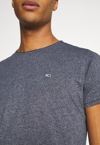 Tommy Jeans - SLIM JASPE C NECK - Basic T-shirt - twilight navy - 5