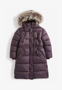 Next - Zimní kabát - dark purple - 0