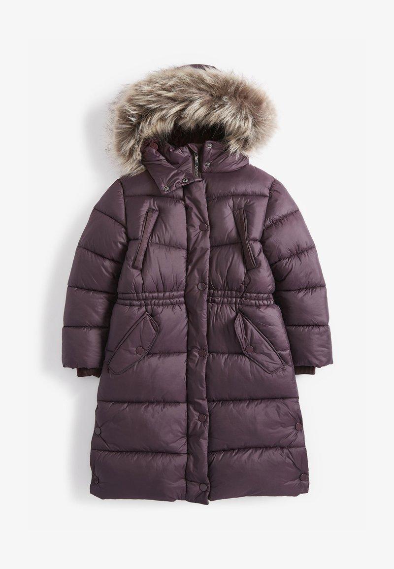Next - Zimní kabát - dark purple