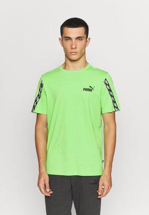 POWER TAPE TEE - Print T-shirt - green flash
