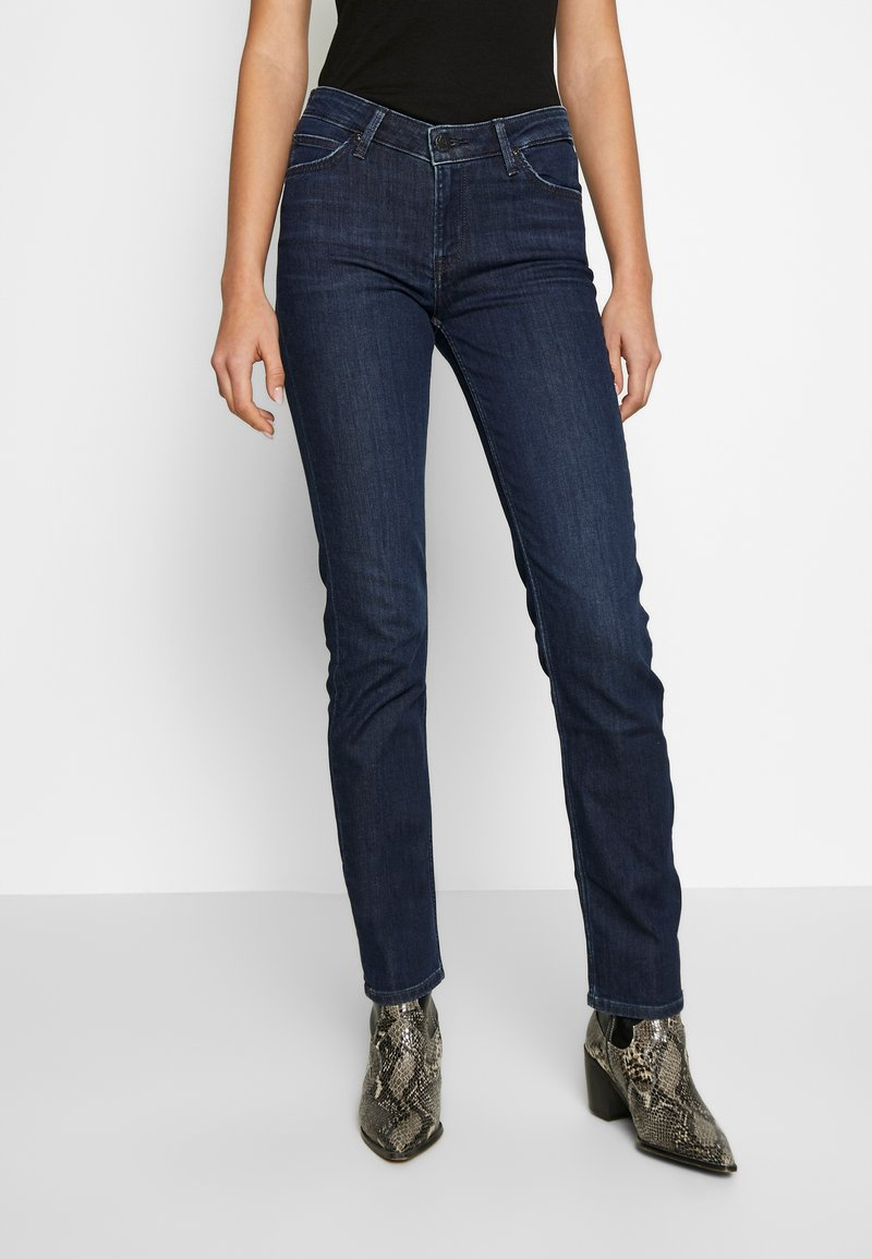 Lee - MARION STRAIGHT - Jeans a sigaretta - dark truxel