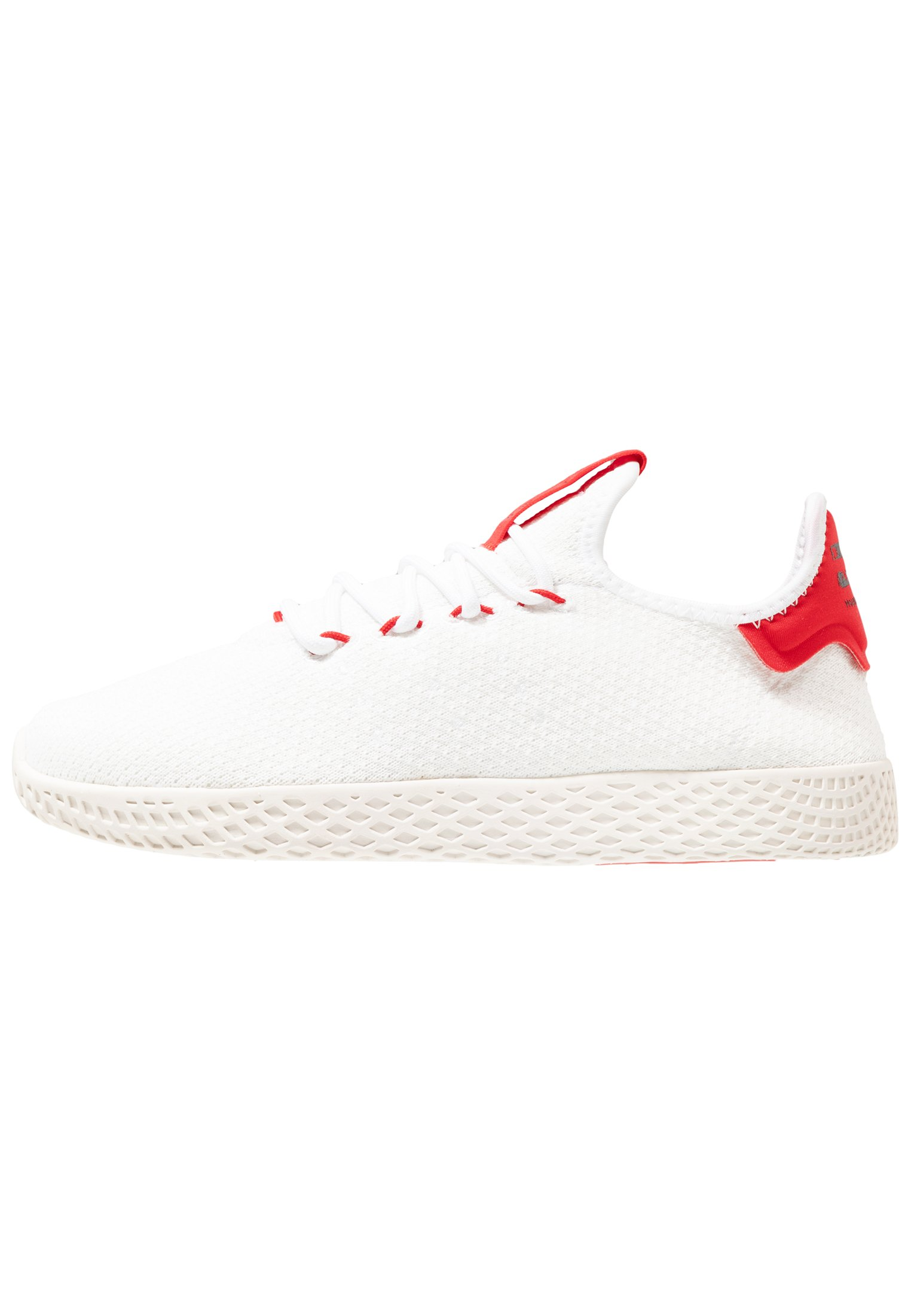 Adidas Originals Pw Tennis Hu - Matalavartiset Tennarit Footwear White/scarlet/calk White
