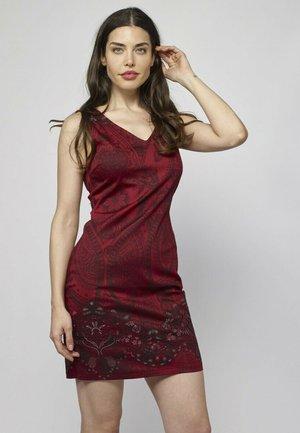 Vestido informal - rojo