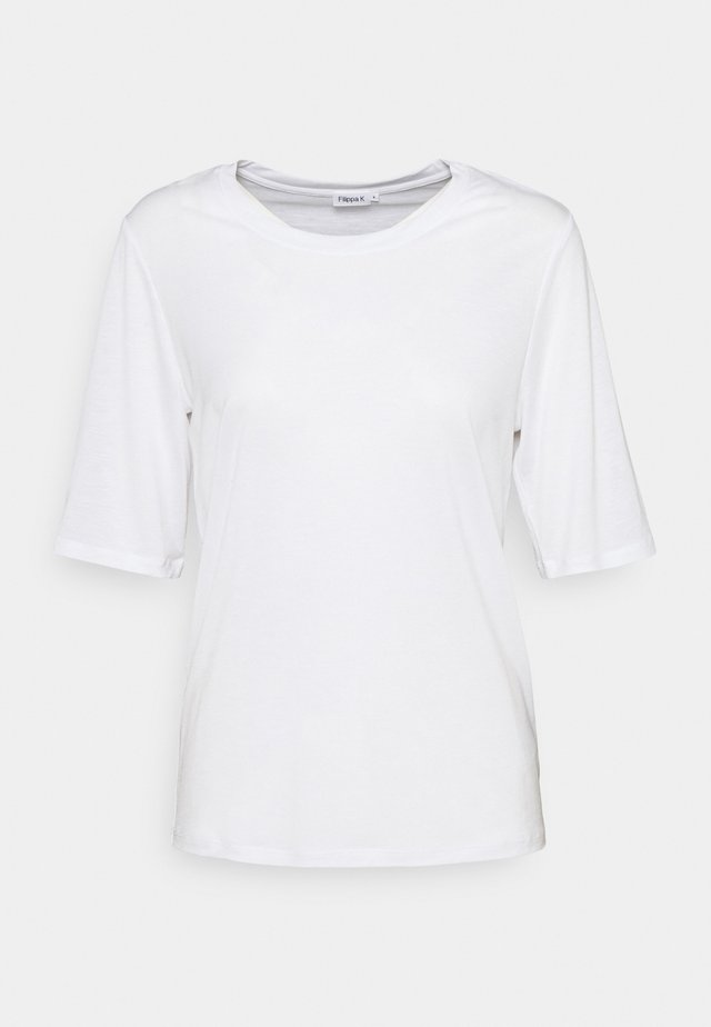 ELENA TEE - T-shirt basique - white