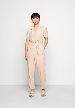PUFFSLEEVE - Jumpsuit - ivory