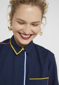 Paul Smith - Button-down blouse - navy - 3