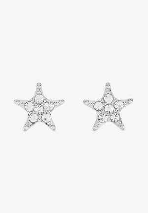 STAR SMALL EAR - Náušnice - silver-coloured