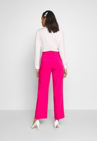 Ivyrevel - FRONT PLEATED WIDE PANTS - Trousers - pink - 2