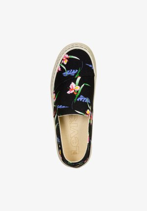 SHERWOOD  - Slip-ons - brilliant black