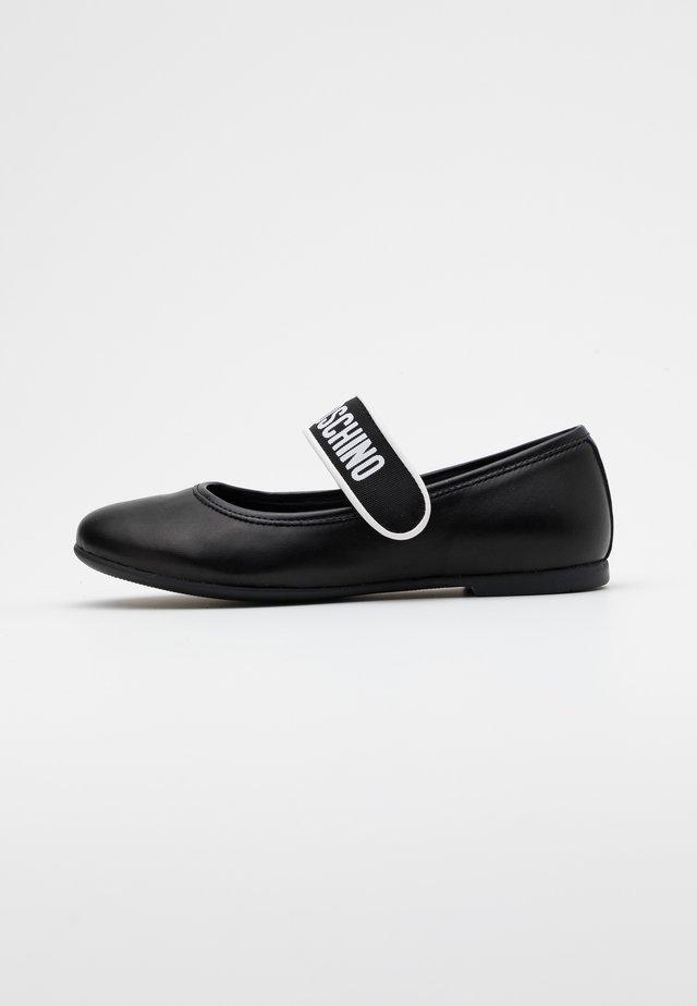 Riemchenballerina - black