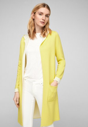 JAS - Cardigan - light yellow