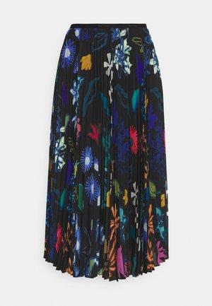 PLEATED SKIRT - Pleated skirt - black