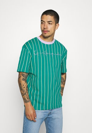 ORIGINALS PINSTRIPE TEE UNISEX  - Print T-shirt - green