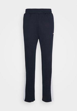 SANDRO TRACK PANT - Teplákové kalhoty - black iris/bright white