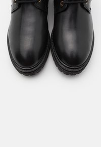 Copenhagen Shoes - TIME OF MY LIFE - Lace-up ankle boots - black - 5