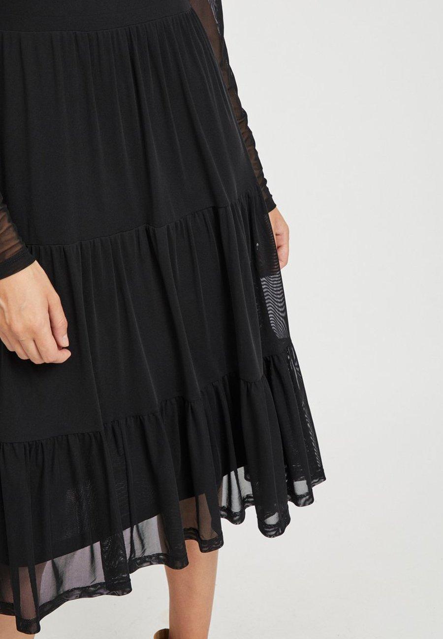 Vila Freizeitkleid black/schwarz