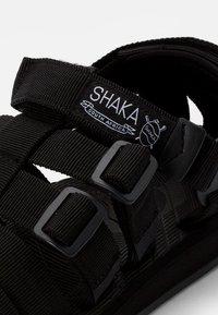 Shaka - HIKER - Sandals - black - 5