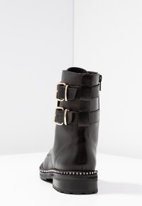 Kurt Geiger London - STOOP - Lace-up ankle boots - black - 5