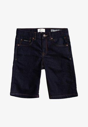 MODERN FLAVE RINSE  - Denim shorts - rinse