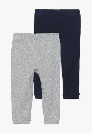 BOY BABY 2 PACK - Leggings - navy/grey