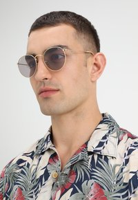 Ray-Ban - ROUND METAL - Sonnenbrille - gold-coloured - 1