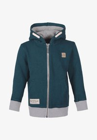 Band of Rascals - Zip-up hoodie - teal - 0