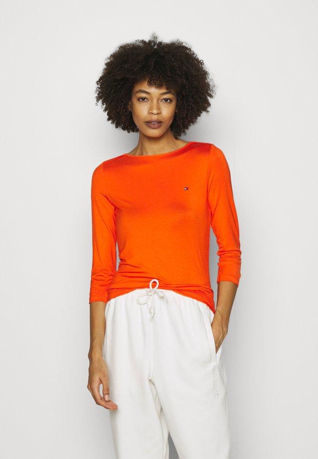 BOAT NECK TEE 3/4 - Long sleeved top - princeton orange