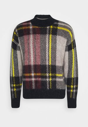 TARTAN CHECK - Jumper - blue
