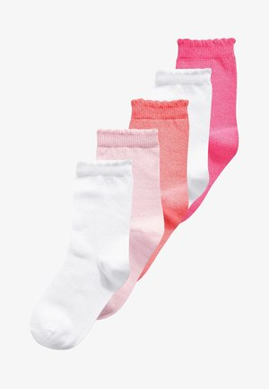 5 PACK - Socks - pink/rose/white