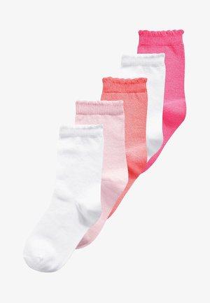 5 PACK - Sokken - pink/rose/white