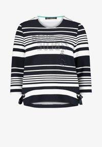 Betty Barclay - MIT RINGEL - Sweatshirt - dunkelblau/weiß - 0