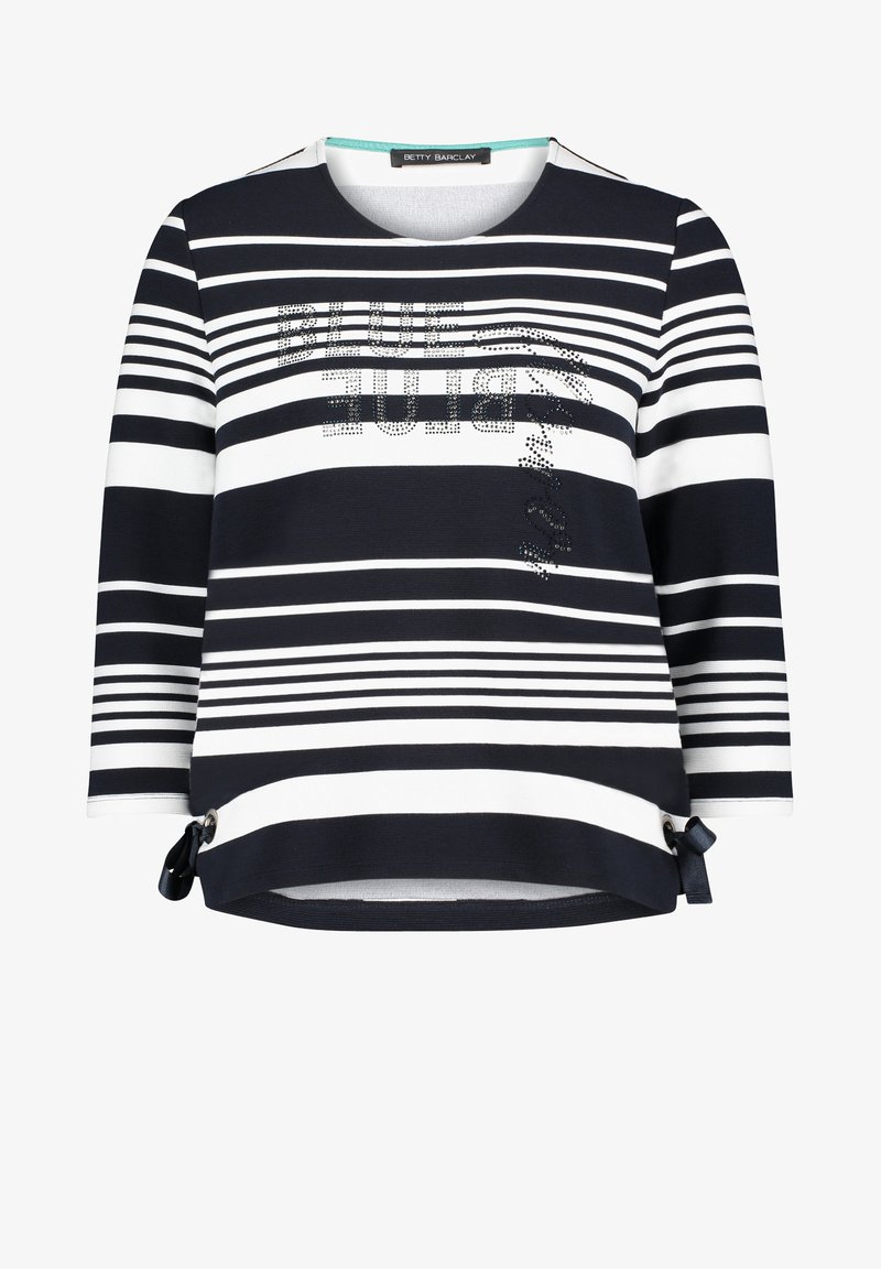 Betty Barclay - MIT RINGEL - Sweatshirt - dunkelblau/weiß