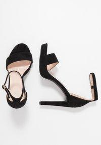 BEBO - CIMONA - Sandály na vysokém podpatku - black - 3