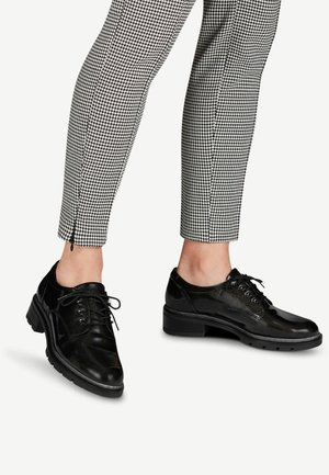 Lace-ups - anthracite pat